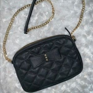 Handbags - Black crossbody purse or clutch bag